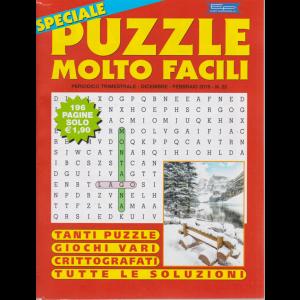 Speciale Puzzle Molto Facili - n. 22 - trimestrale - dicembre - febbraio 2019 -