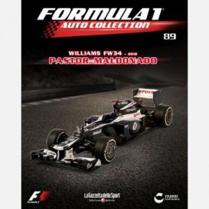 Formula 1 Auto Collection Williams Fw34 (2012)
