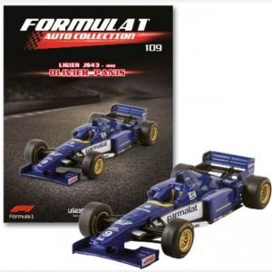 Formula 1 Auto Collection Ligiers JS43 - 1996