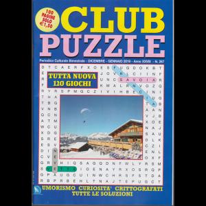 Club Puzzle - n. 267 - bimestrale - dicembre - gennaio 2019 - 100 pagine - 120 giochi