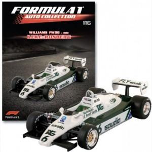 Formula 1 Auto Collection Williams FW08 - 1982