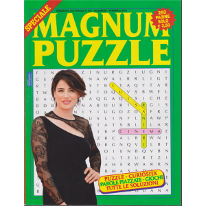 Speciale Magnun Puzzle - n. 416 - dicembre - febbraio 2019 - 260 pagine