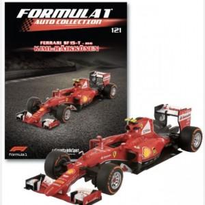 Formula 1 Auto Collection Sf 15t - 2015 + raccoglitore