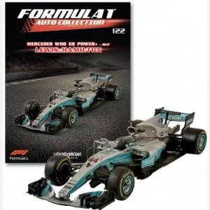 Formula 1 Auto Collection Mercedes W08 - 2017
