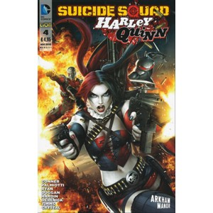SUICIDE SQUAD/HARLEY QUINN # 4 - DC comics Lion
