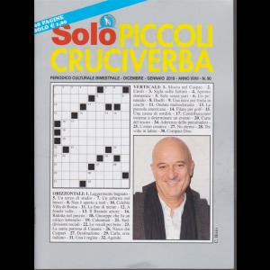 Solo Piccoli Cruciverba - n. 90 - bimestrale - dicembre - gennaio 2019 - 68 pagine
