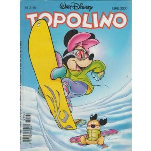 Topolino - Walt Disney - Numero 2194