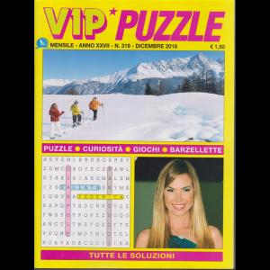 Vip Puzzle - n. 319 - mensile - dicembre 2018