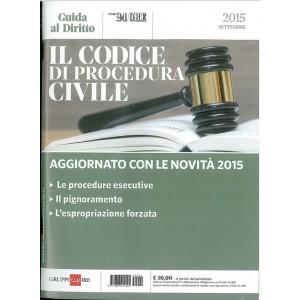 Il codice di procedura civile - Guida al diritto Settembre 2015