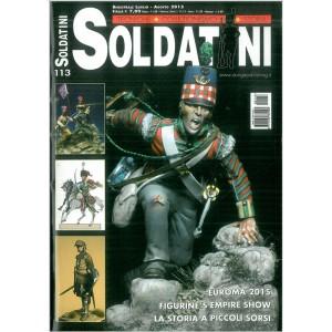 """Soldatini """"Tecniche-Collezionismo-Storia""""- Bimestrale Luglio-Agosto 2015"""