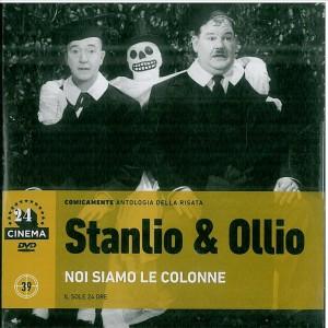DVD Stanlio & Ollio - Noi siamo le colonne n.39 coll.24 Cinema DVD