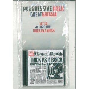 "Progressive Rock Gretest 12° CD - Jethro Tull ""Thick as a brick"""