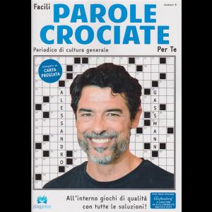 Facili Parole Crociate Per Te - N.9 -bimestrale - 20/11/2018 - Alessandro Gassmann