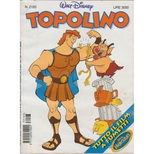 TOPOLINO - WALT DISNEY - NUMERO 2193