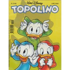 TOPOLINO - WALT DISNEY - NUMERO 2188