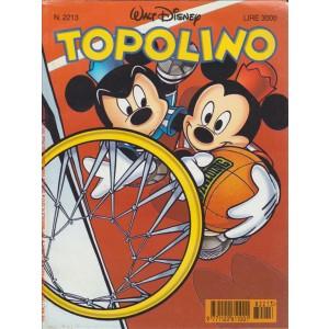 TOPOLINO - WALT DISNEY - NUMERO 2213