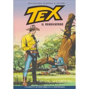 Tex Collezione Storica a colori - Il vendicatore #50 - I fumetti di Repubblica