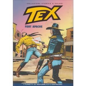 Tex Collezione Storica a colori - Fort Apache #46 - I fumetti di Repubblica