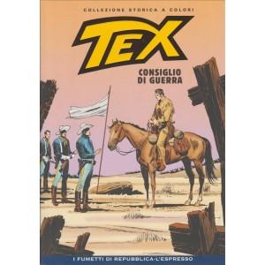 Tex Collezione Storica a colori - Consiglio di guerra #43 - I fumetti di Repubblica