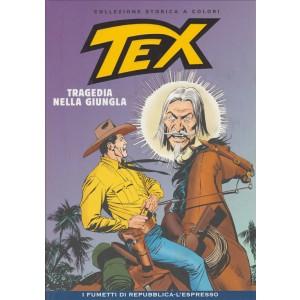 Tex Collezione Storica a colori - Tragedia nella giungla #44 - I fumetti di Repubblica