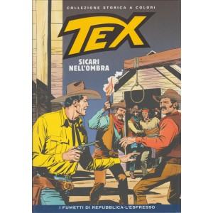 Tex Collezione Storica a colori - Sicari nell'ombra #42 - I fumetti di Repubblica