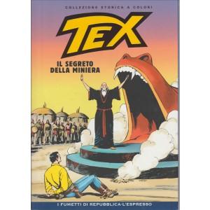Tex Collezione Storica a colori - Il segreto della miniera #16 - I fumetti di Repubblica