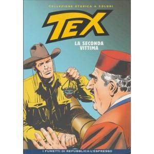 Tex Collezione Storica a colori - La seconda vittima #47 - I fumetti di Repubblica