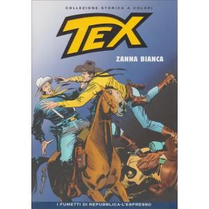 Tex Collezione Storica a colori - Zanna bianca #45 - I fumetti di Repubblica