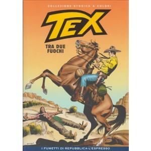 Tex Collezione Storica a colori - Tra due fuochi #54 - I fumetti di Repubblica