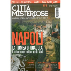 CITTA' MISTERIOSE - Mensile n. 5  Settembre 2015