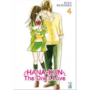 Manga HANA-KUN, THE ONE I LOVE n.4 - coll. UP n.141 -Star Comics