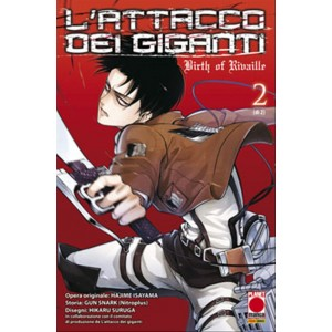Manga L'ATTACCO DEI GIGANTI BIRTH OF RIVAILLE 2 - MANGA SHOCK 8