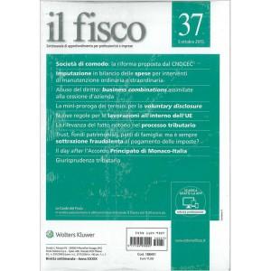 Il Fisco-Settimanale di approfondimento per professionisti e imprese nr. 37