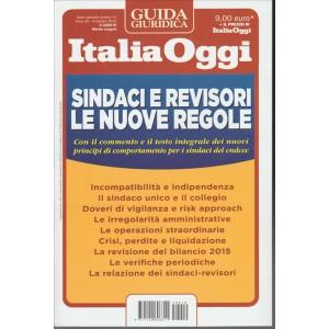 Guida Italia Oggi - Sindaci E Revisori - Le nuove regole - 8 Ottobre 2015