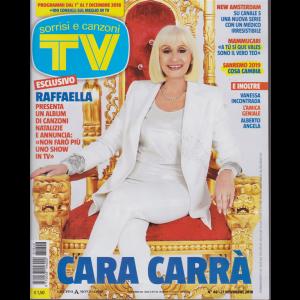 Sorrisi E Canzoni Tv - n. 48 - 27 novembre 2018 - settimanale