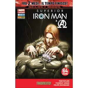 IRON MAN & NEW AVENGERS 30-SUPERIOR IRON MAN 5-Marvel Italia Panini Comics
