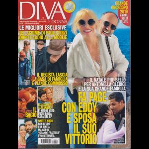 Diva E Donna   - n. 51 - 25 dicembre 2018 - settimanale femminile