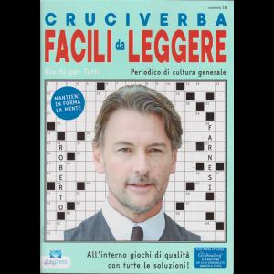 Cruciverba facili da leggere - n. 18 - bimestrale - 20/12/2018 - Roberto Farnesi