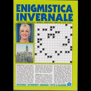 Enigmistica invernale - n. 53 - trimestrale - gennaio - marzo 2019 -