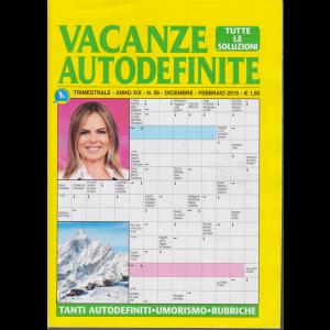 Vacanze autodefinite - n. 56 - trimestrale - dicembre - febbraio 2019 -