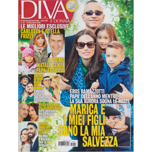 Diva E Donna - n. 52 - 31 dicembre 2018 - settimanale femminile -