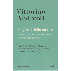 Vittorino Andreoli -I segreti della mente - n. 1 - settimanale -
