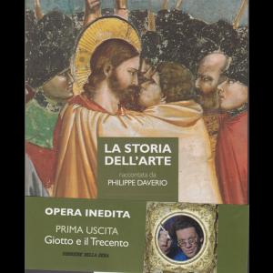 La storia dell'arte raccontata da Philippe Daverio - opera inedita - prima uscita - Giotto e il Trecento - n. 1 - settimanale
