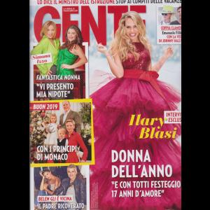Gente - n. 53 - settimanale - 5/1/2019 -