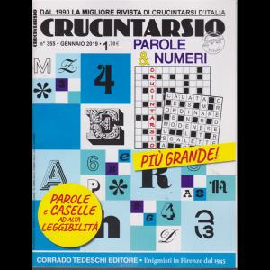 Crucintarsio - n. 355 - gennaio 2019 - mensile -
