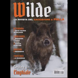 Wilde - n. 6 - bimestrale - gennaio - febbraio 2019 -