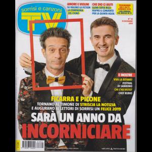 Sorrisi E Canzoni Tv - n. 53 - 31 dicembre 2018 - settimanale