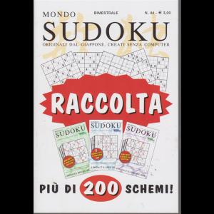 Mondo sudoku - raccolta - n. 44 - bimestrale - più di 200 schemi