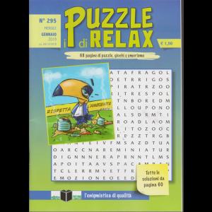 I Puzzle Di Relax - n. 295 - mensile - gennaio 2019 - 68 pagine di puzzle, giochi e umorismo