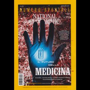 National Geographic - Il Futuro Della Medicina - n. 1 - mensile - 3 gennaio 2019 - numero speciale